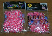 Резинки для плетения браслетов Rainbow loom bands Расцветка 4