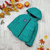 Детские куртки на мальчика демисезон на синтепоне 86,98,104,116