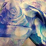 10103-13, павлопосадский шийну хустку (крепдешин) шовковий з подрубкой, фото 4