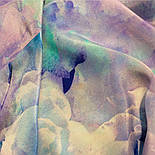 10103-13, павлопосадский шийну хустку (крепдешин) шовковий з подрубкой, фото 5