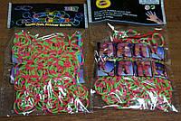 Резинки для плетения браслетов Rainbow loom bands Расцветка 6