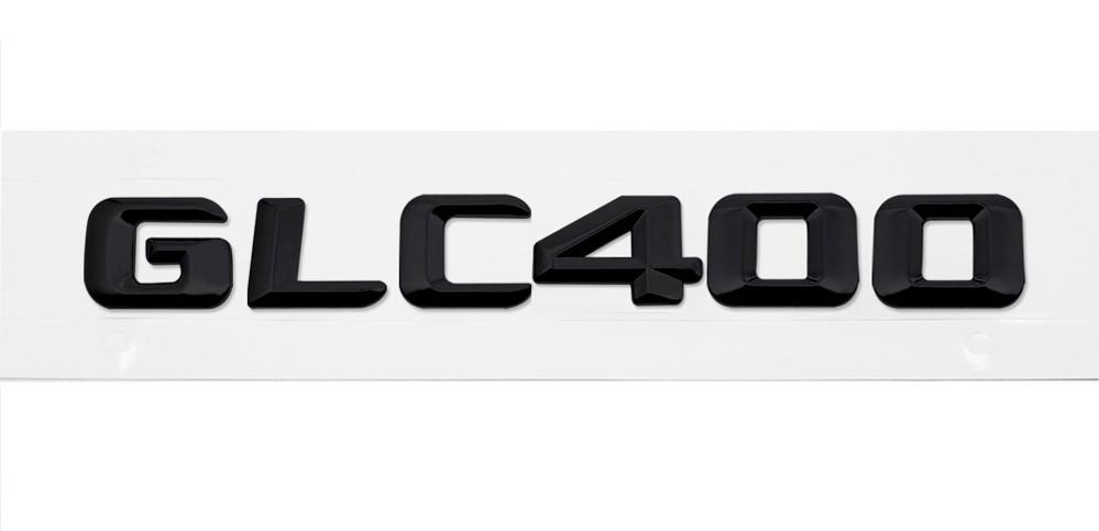 Матовая Эмблема Шильдик надпись GLC400 Мерседес Mercedes