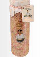 """Соль для ванн """" Омолаживающая """"  с ростками пшеницы Рецепты бабушки Агафьи,800 мл."""