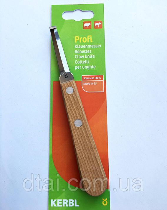 Нож для обработки копыт Profi - профессиональный уход за копытами у овец и коз. Германия.
