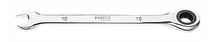 Ключ комбінований з тріскачкою 17мм NEO Tools 09-067