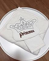 Детское полотенце-уголок Princess размер 80*80  фабричная Турция