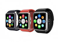 Смарт часы телефон Apple Watch Smart A1 Black Silver Gold RED Rosse Blue