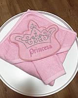 Детское полотенце-уголок Princess-Rose размер 80*80  фабричная Турция