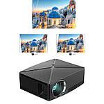 Проектор мультимедийный с Wi-Fi кинопроектор видеопроектор Wi-light C80 Проектор для дома Оригинал, фото 7