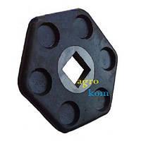 Диск шестигранный 564447003 резино-металлический