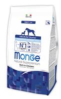 Корм Monge ( Монже ) Dog Medium Starter canine для щенков средних пород собак