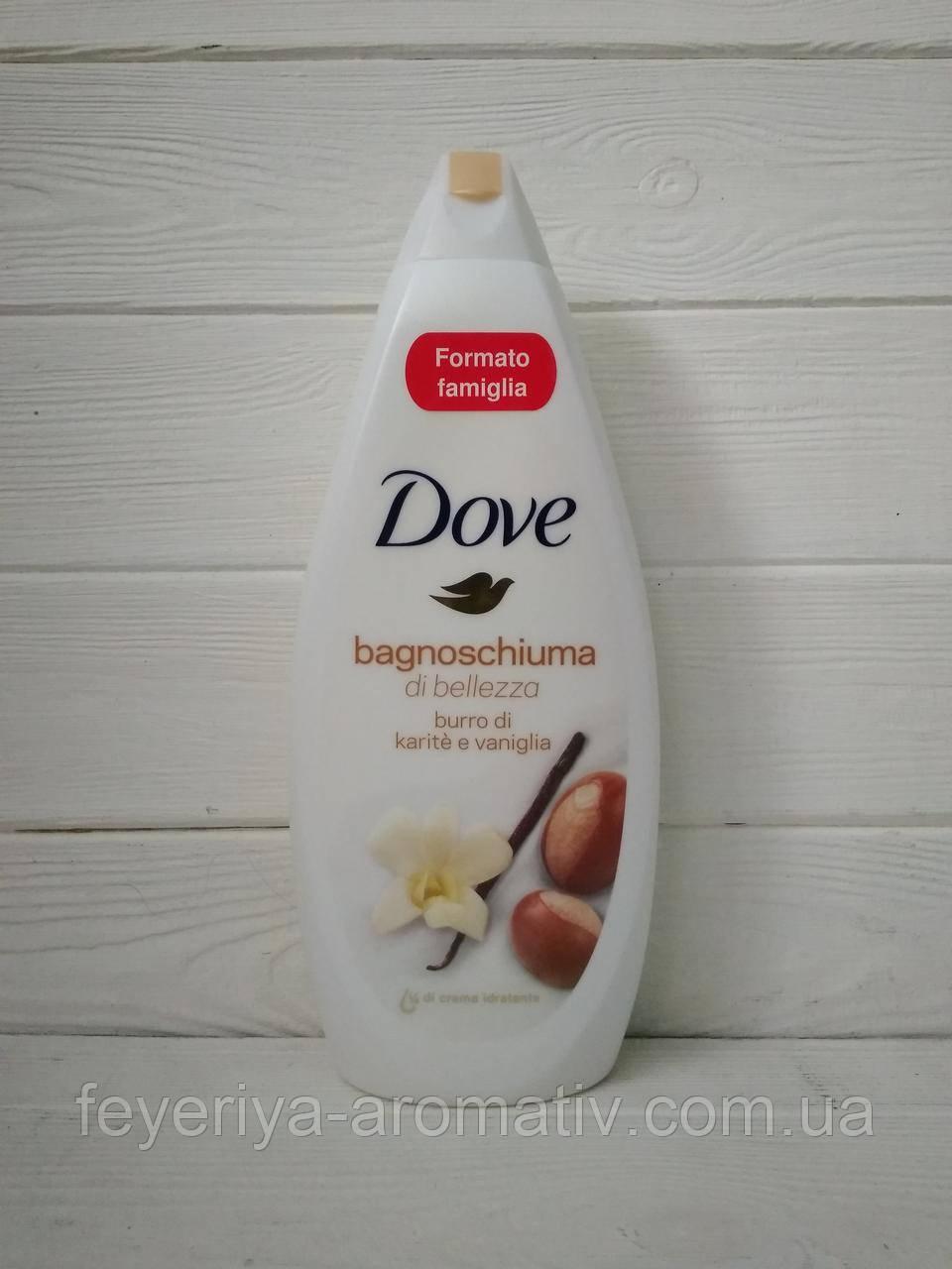 Гель для душа Dove масло ши и пряная ваниль,700гр (Нидерланды)