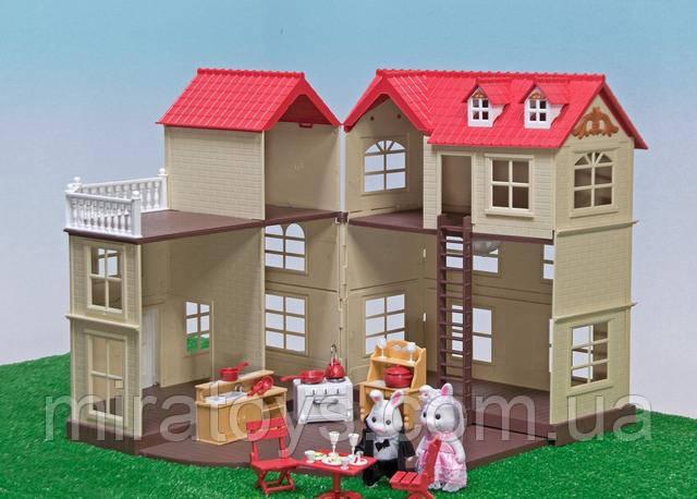 Тварини флоксовые Happy Family 012-10 Заміський будиночок