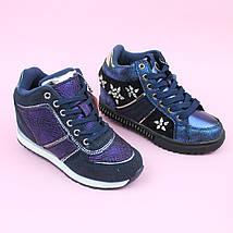 Ботинки демисезонные девочке сникерсы тм Bi&Ki размер 31,35, фото 2