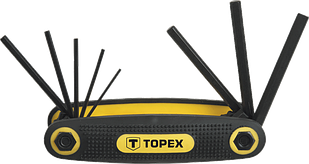Набір шестигранників 8шт TOPEX 35D958