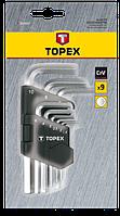 Набір шестигранників 9шт TOPEX 35D955