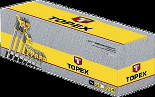 Набір шестигранників з T образної рукояткою 8шт TOPEX 35D963