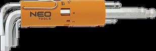 Набір шестигранних ключів 2,5-10мм 8шт NEO 09-523