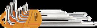 Набір ключів Torx 9шт NEO 09-526