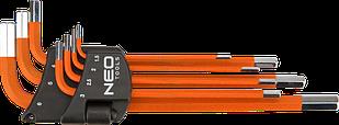 Набір шестигранних ключів 1,5-6мм 7шт NEO 09-517
