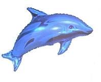 Воздушные шар фольгированный Дельфин