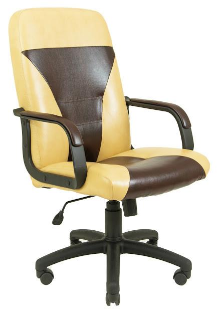 Кресло Сиеста пластик 2 кат бежево-коричневое