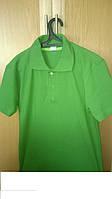 Рубашка Поло зелёная размер М