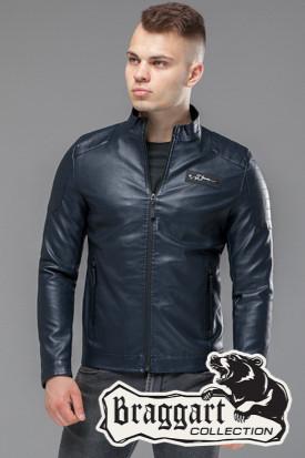 Мужская весенне-осенняя куртка 36361 темно-синяя