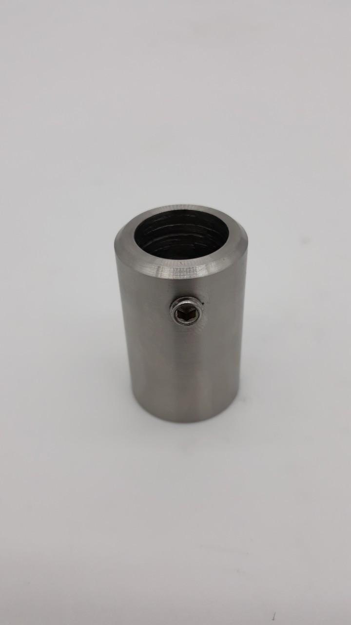 ODF-09-14-01 Крепление штанги к стене 90 градусов из 304 нержавейки под диаметр штанги 16 мм, матовое