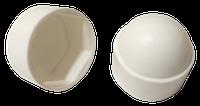 Заглушка колпачковая белая   Заглушка ковпачкова біла 6гр М6,РЕ  [3M0003M13791337945]