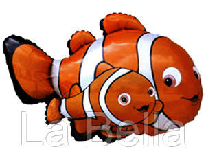 Воздушные шар фольгированный Рыбка  Немо