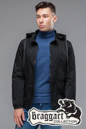 Мужская осенняя куртка (р. 48-56) арт. 38399 черный, фото 2