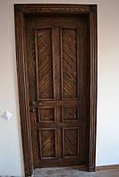 Двери межкомнатные состаренные