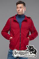 Мужская красная осенняя куртка (р. 48-56) арт. 38399 красный 46