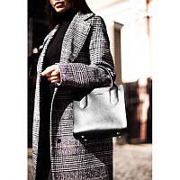 Кожаная женская сумка-кроссбоди черная Blackwood, фото 1