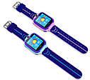 Детские Водонепроницаемые часы с gps Smart baby Q12 голубые, фото 6