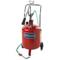 Flexbimec 5423 - Передвижная установка для роздачи масла с бочкой 24 л
