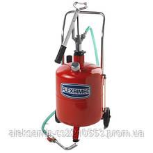 Flexbimec 5423 - Пересувна установка для роздачи олії з бочкою 24 л
