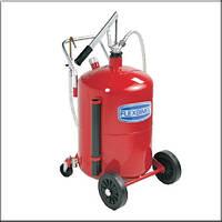 Flexbimec 5460 - Передвижная установка для роздачи масла с бочкой 65 л