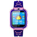 Дитячий Водонепроникний годинник з gps Smart baby Q12 рожевий, фото 2
