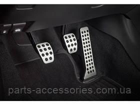 Комплект накладок на педали для Mazda 3 2013+ механика новые оригинал