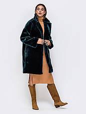 Трендовая женская шуба из искусственного меха в стиле oversize бутилка розмір 44-46 48-50, фото 2