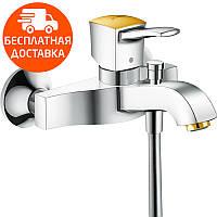 Смеситель для ванны Hansgrohe Metropol Classic 31340090 хром/золото, фото 1