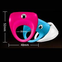 Виброкольцо OVO Dante эрекционное Кольцо на пенис с вибратором для клитора, фото 2