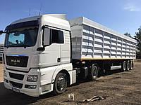 Переоборудование прицепа тягача в зерновоз