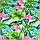 Бязь Фламінго тропічні листя, фото 9