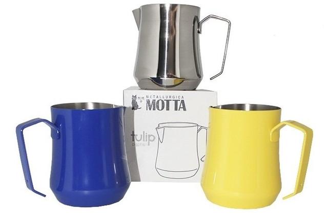 Питчер молочник 350 мл. Motta TULIP (полированная нержавеющая сталь)