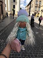 Кукла ручной работы. Интерьерная кукла.Кукла большеголовка.