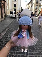 Куколка ручной работы. Кукла на подарок. Кукла большеголовка.