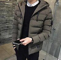 Зимний мужской пуховик. Модель 813, фото 6